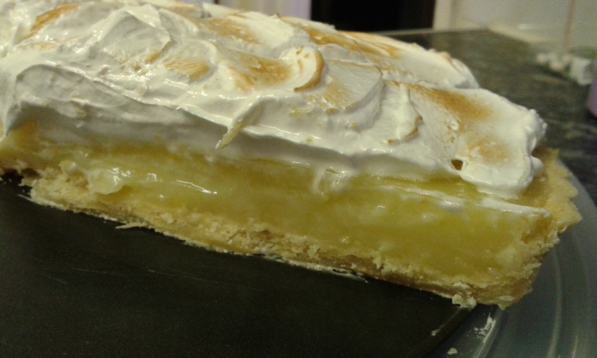 Lemon & Lime Meringue pie with Italian Meringue | adampastryguy